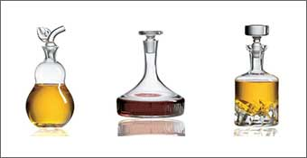 Crystal Whiskey Decanters to hold Your Favorite Spirits