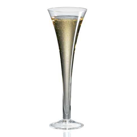 Crystal champagne flutes with hollow stem all things crystal - Hollow stem champagne glasses ...