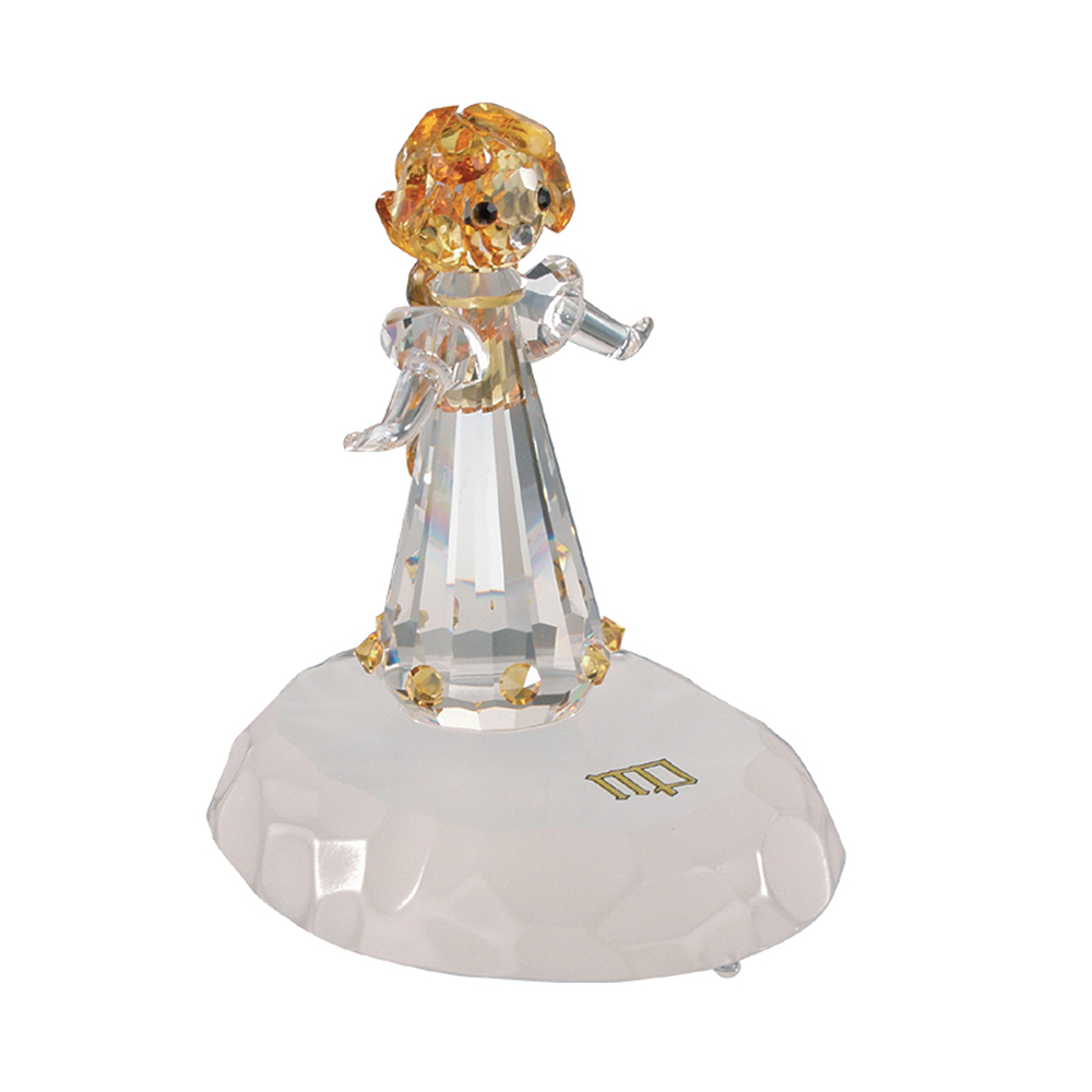 Preciosa crystal zodiac virgo figurine for Crystal fall