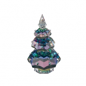 preciosa dark crystal christmas tree allthingscrystal - Aqua Christmas Tree