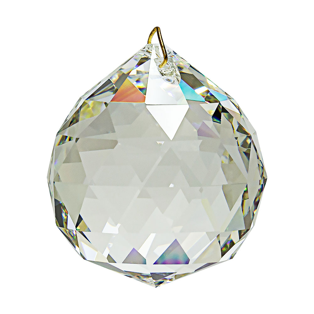 Hanging Feng Shui Crystal Ball 2 inches