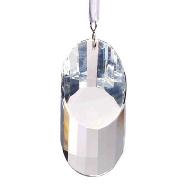 Hanging Crystal Oval Cut Window Prism