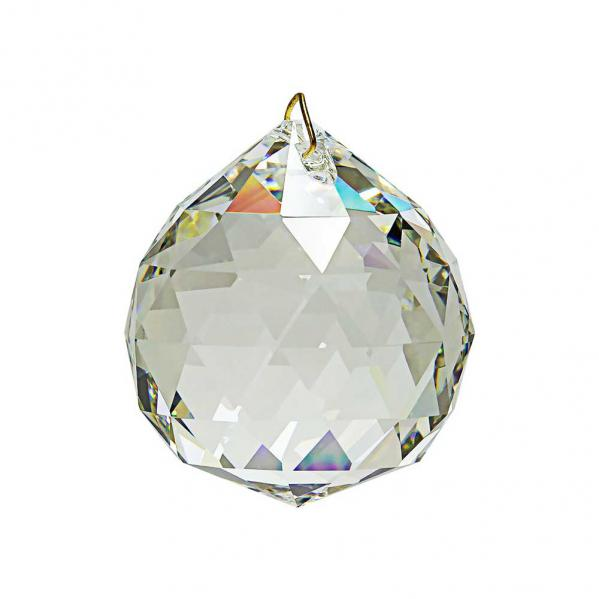 Hanging Feng Shui Crystal Ball 1.2 inches