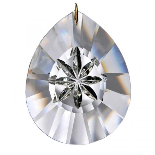 Large Hanging Tear Drop Crystal Prism