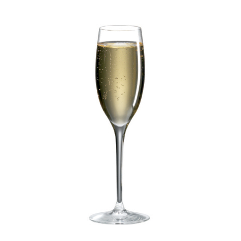 Ravenscroft Invisibles, Vintage Crystal Champagne Glasses (Set of 4)