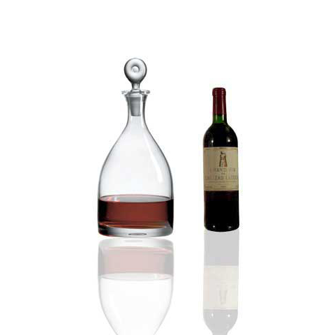 Ravenscroft Monticello Double Magnum Crystal Wine Decanter