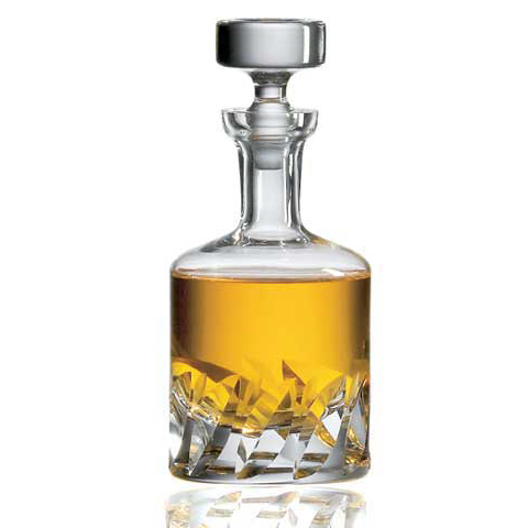 Ravenscroft Beveled Blade Crystal Whiskey Decanter