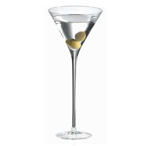Ravenscroft Long Stem Crystal Martini Glass (Set of 2)