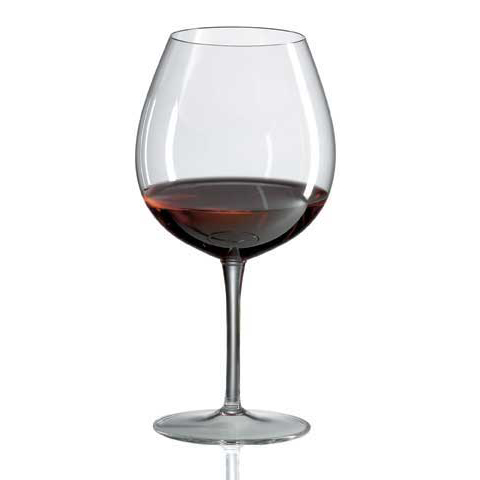 Ravenscroft Burgundy Crystal Red Wine Glasses (Set of 4)