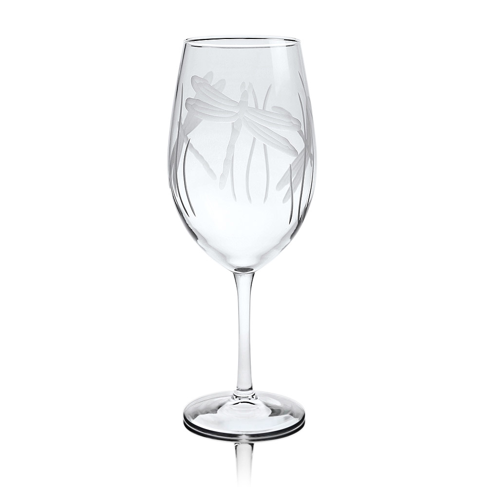 Rolf Glass Dragonfly All Purpose Wine Glasses 18 oz.
