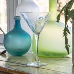 Rolf Glass Dragonfly Martini Glasses 10 oz. (Set of 4)