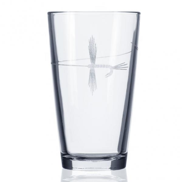 Fly Fishing Glasses by Rolf Glass 16 oz. Pint (Set of 4)