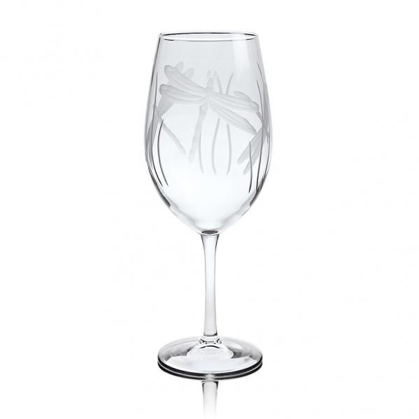 Rolf Glass Dragonfly Wine Glasses, All Purpose 18 oz. (Set of 4)