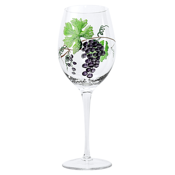Dionysus Crystal Cabernet Wine Glasses 17 oz. (Set of 2)