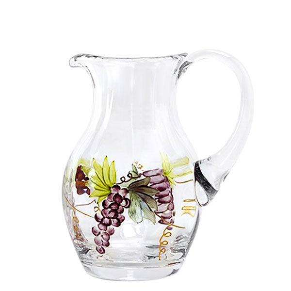 Bacchus Crystal Small Pitcher 16 oz.
