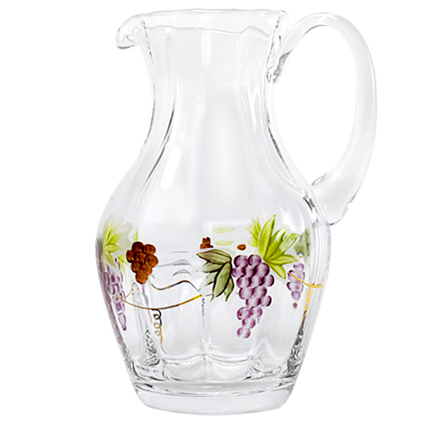 Bacchus Large Crystal Pitcher 52 oz.