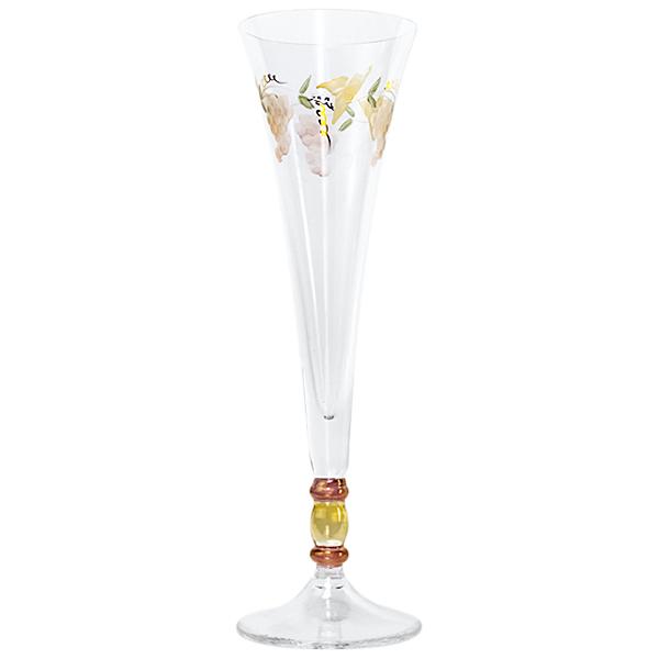 Georgio Crystal Champagne Halo Flutes 8 oz. (Set of 2)