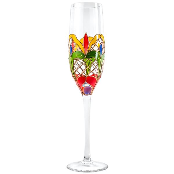 Orleans Crystal Champagne Glasses  10 oz. (Set of 2)