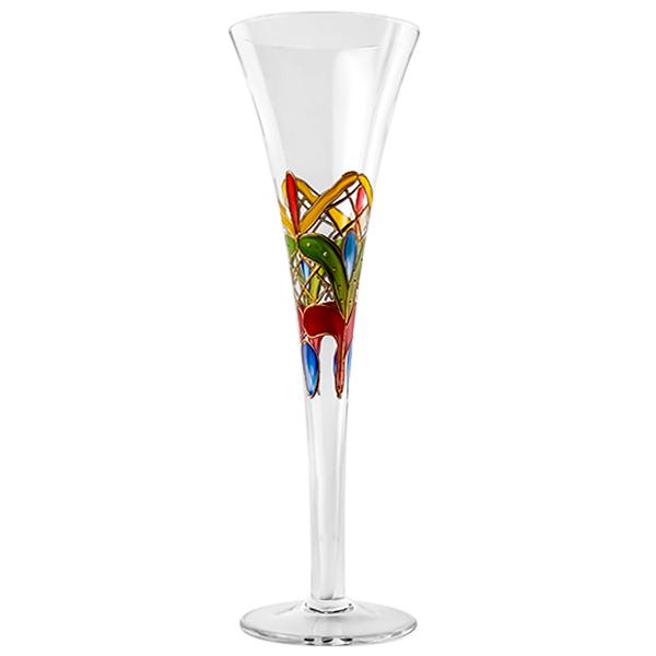 Orleans Crystal Champagne Halo Flutes  10 oz.(Set of 2)