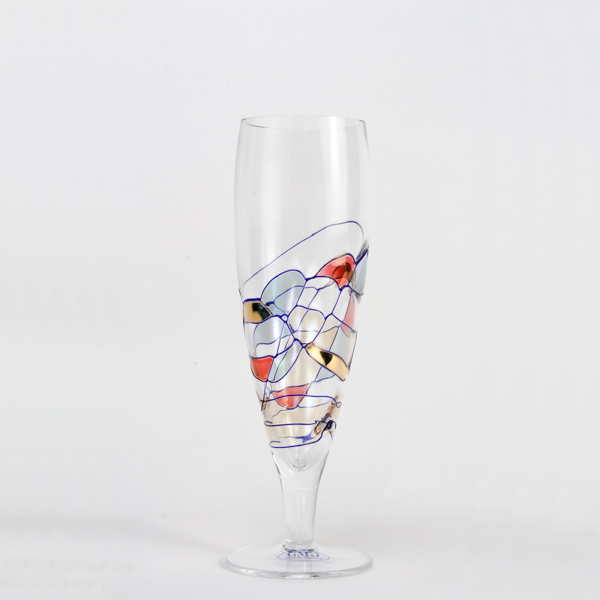Milano Crystal Beer Glasses 10 oz. (Set of 2)