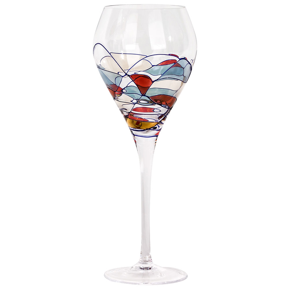 Milano Crystal Wine Goblets 16 oz. (Set of 2)