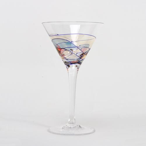 Milano Crystal Cocktail Glasses 6 oz. (Set of 2)