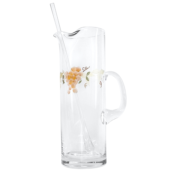 Georgio Crystal Martini Pitcher - holds 6 cups