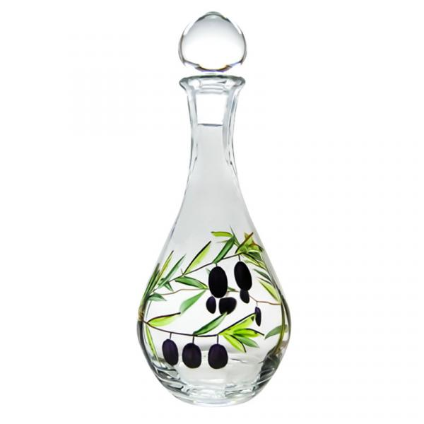 Olivia Romanian Crystal Wine Decanter 48 oz.
