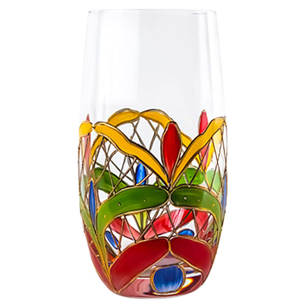 Orleans Crystal Highball Drink Glasses 17 oz. (Set of 2)