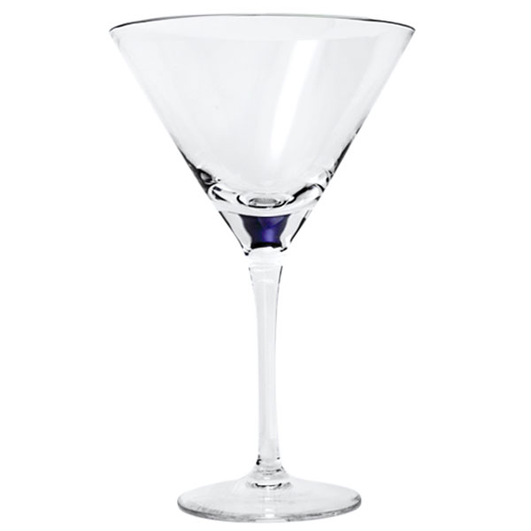 Sade Crystal Martini Glasses 10. oz. (Set of 2)