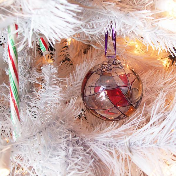 Milano Crystal Ornament  3.5 inches