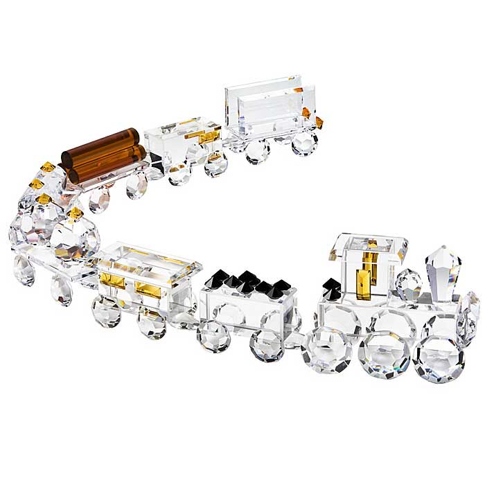 Preciosa Crystal Train Set - 8 Piece