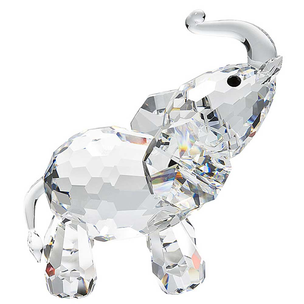 Preciosa Crystal Standing Elephant Figurine Allthingscrystal Com