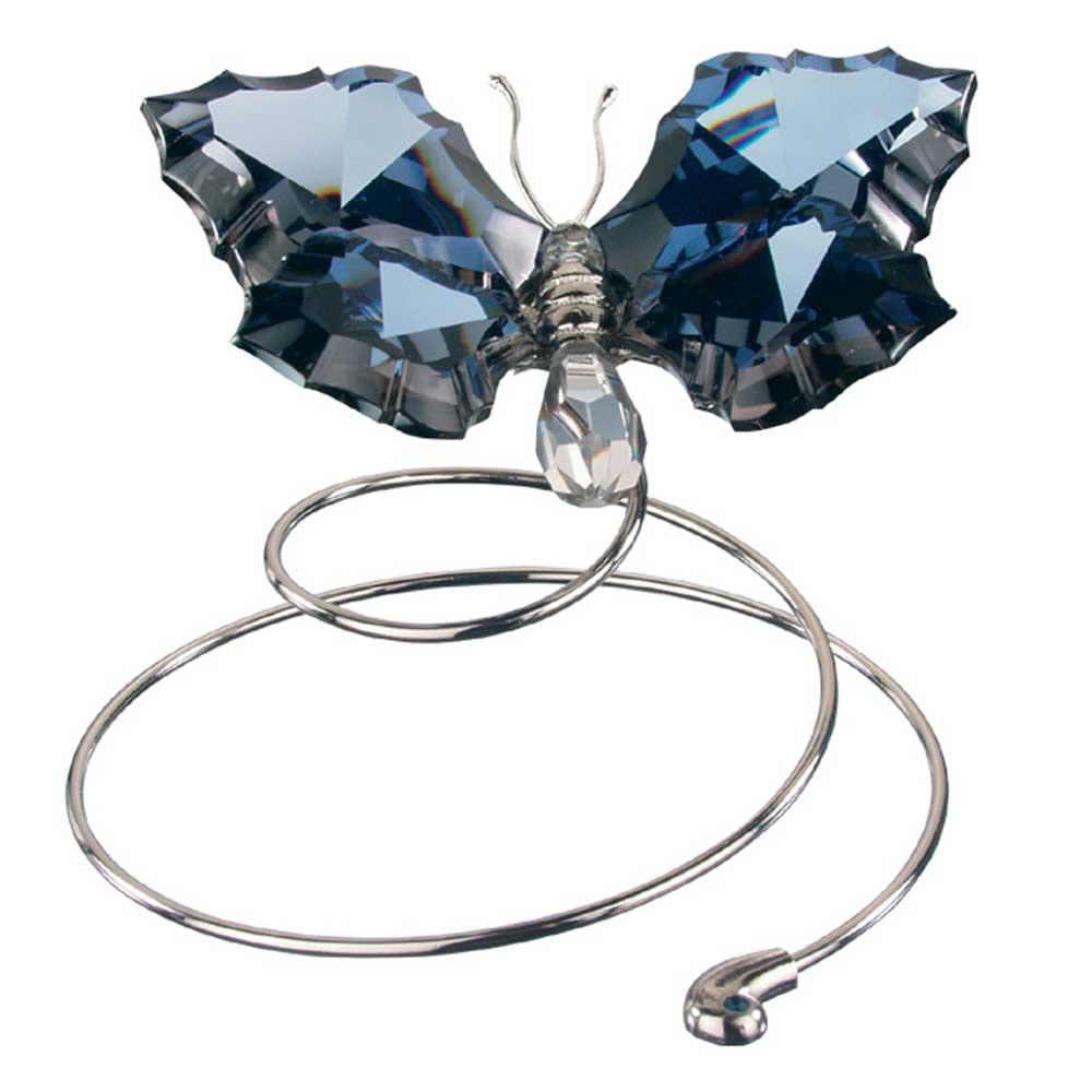 Preciosa Dark Crystal Flying Butterfly Figurine