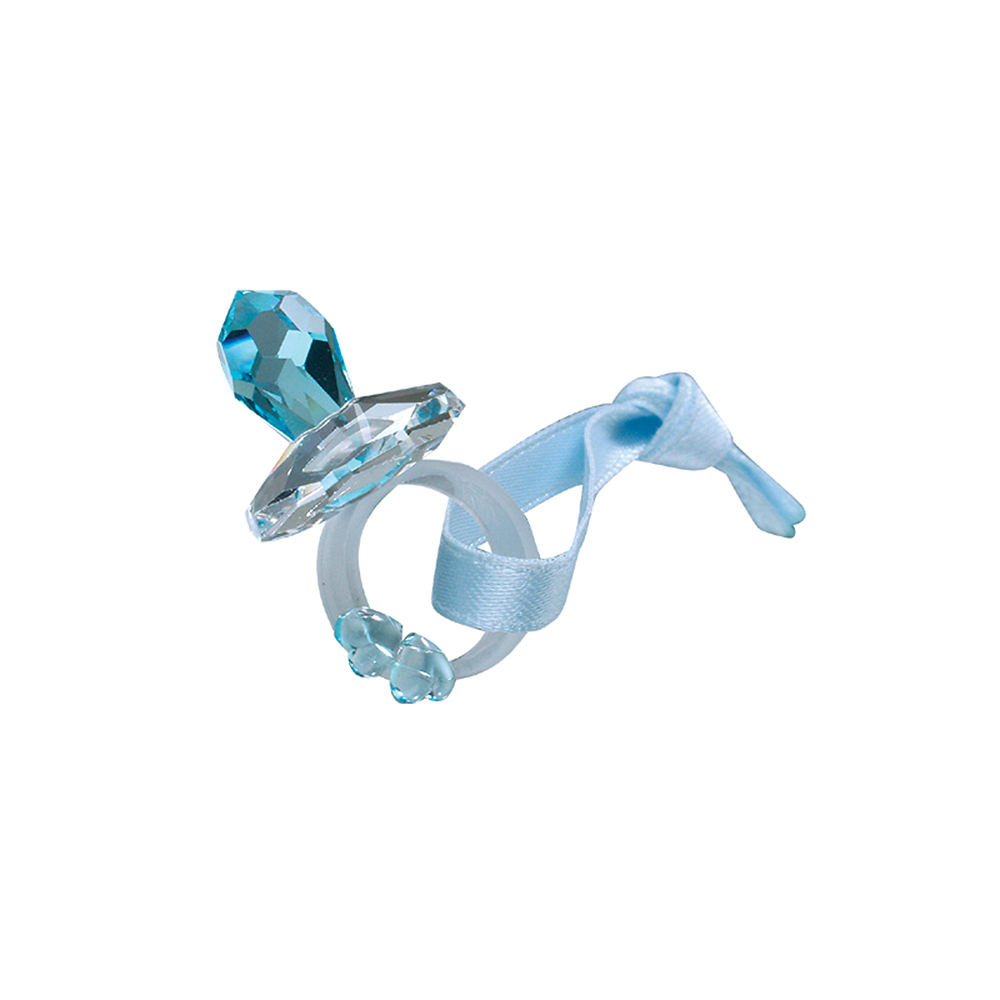 Preciosa Crystal Blue Crystal Pacifier