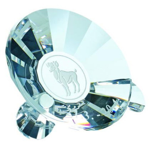 Preciosa Crystal Zodiac Aries the Ram Keepsake