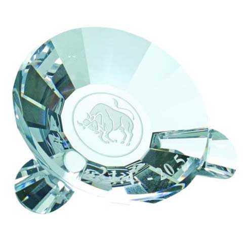 Preciosa Crystal Zodiac Taurus the Bull Keepsake