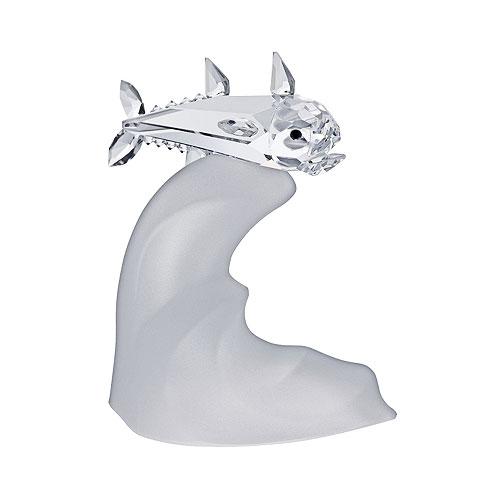 Preciosa Crystal Tuna Figurine