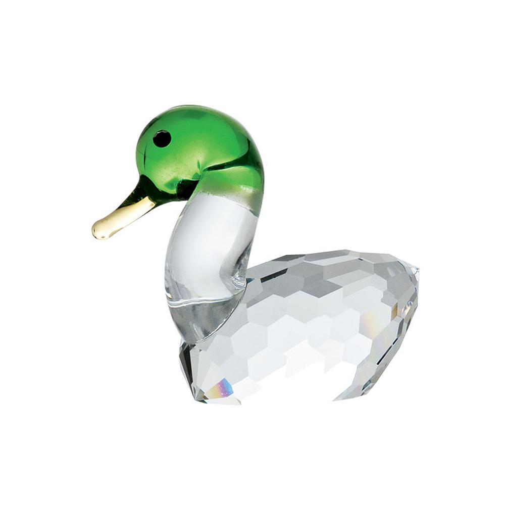 Preciosa Crystal Wild Duck Figurine