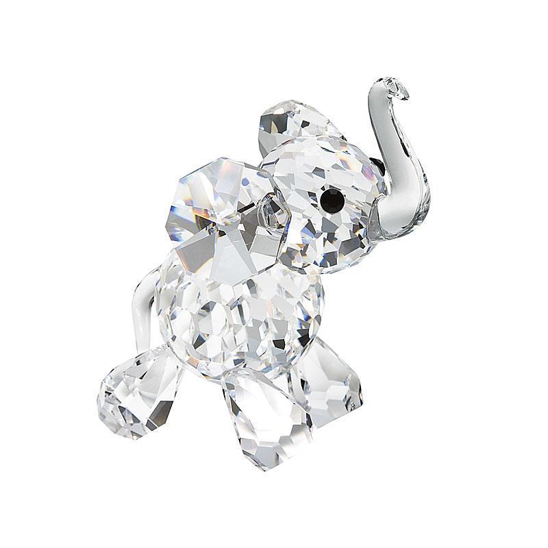 Preciosa Crystal Lucky Elephant Figurine