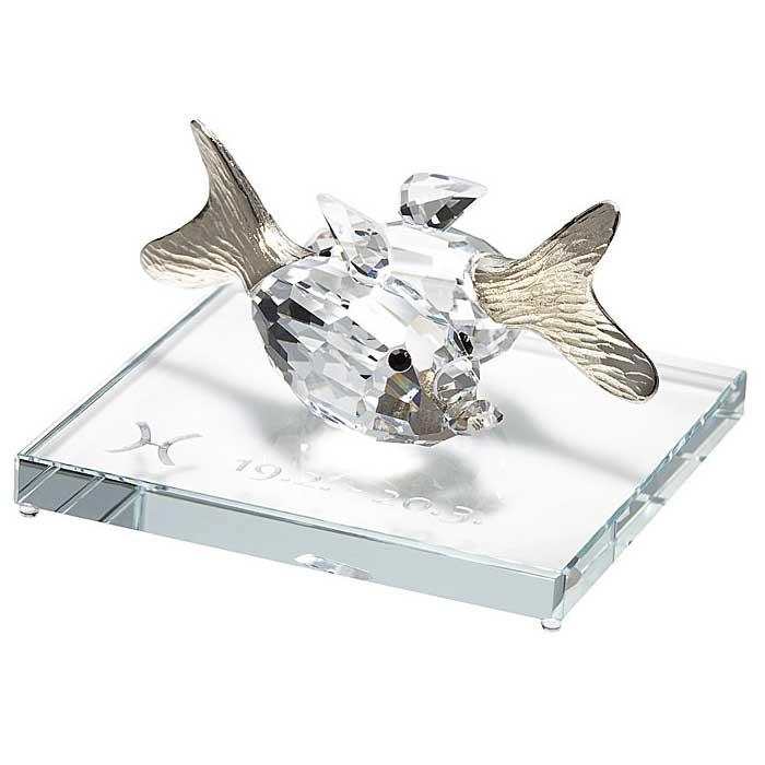 Preciosa Crystal Zodiac Pisces Figurine New Design