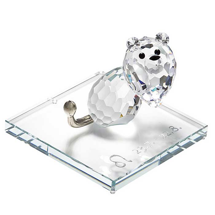 Preciosa Crystal Zodiac Leo Figurine New Design