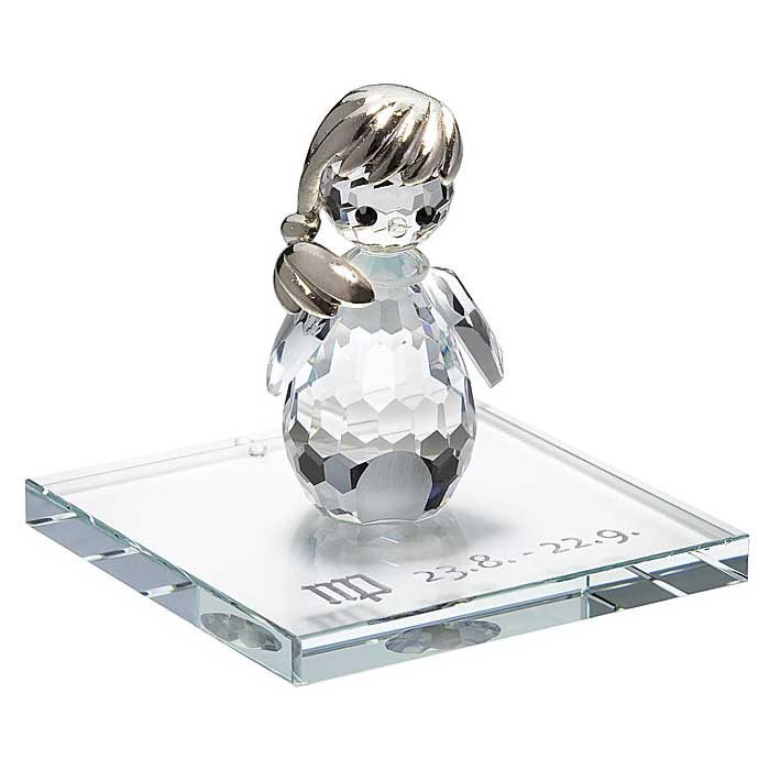 Preciosa Crystal Zodiac Virgo Figurine New Design