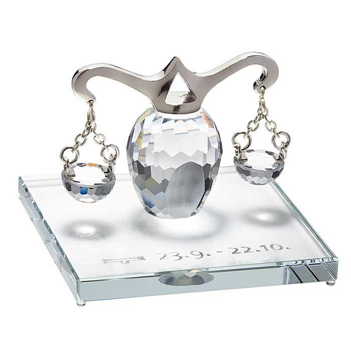 Preciosa Crystal Zodiac Libra Figurine New Design