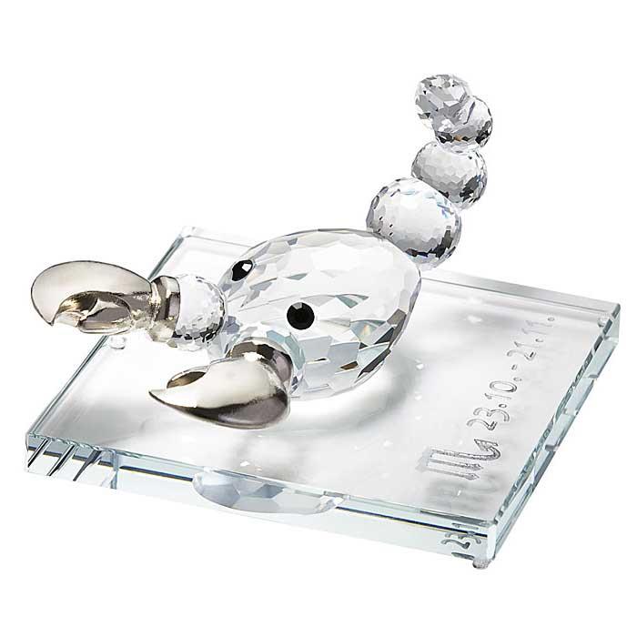 Preciosa Crystal Zodiac Scorpio Figurine New Design