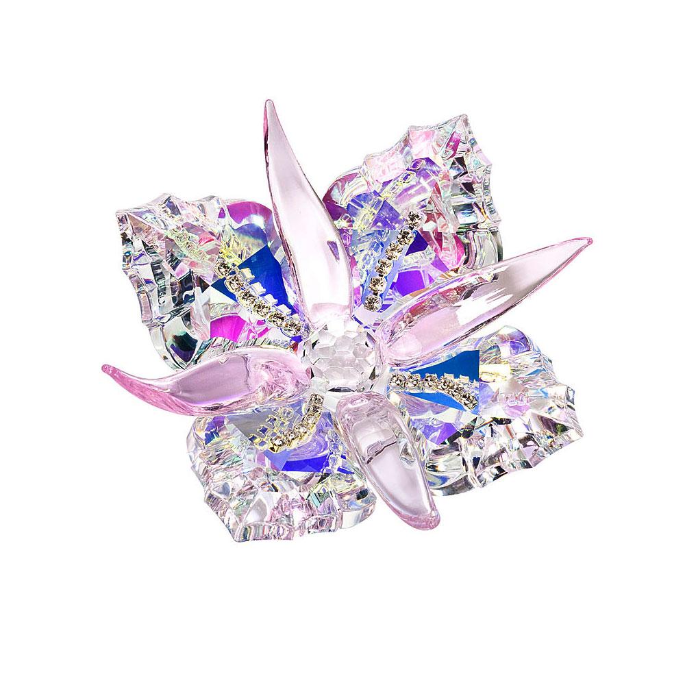 Preciosa Radiant Crystal Aurora Borealis Flower