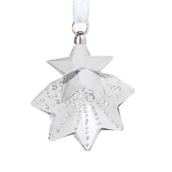 Preciosa Small Crystal Snowflake Ornament