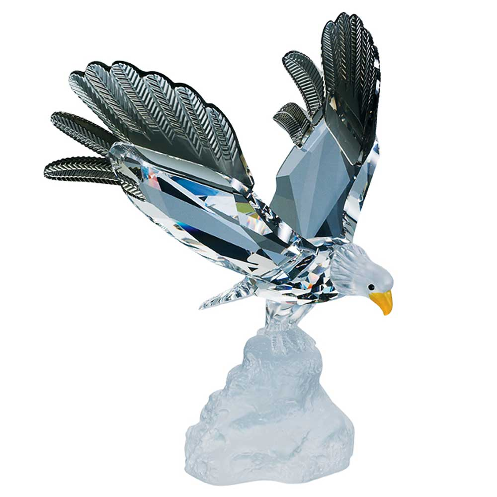 Preciosa Crystal Bald Eagle Figurine - 2006 Designer Series