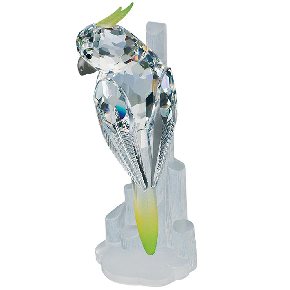 Preciosa Crystal Cockatiel  Figurine - 2006 Designer Series