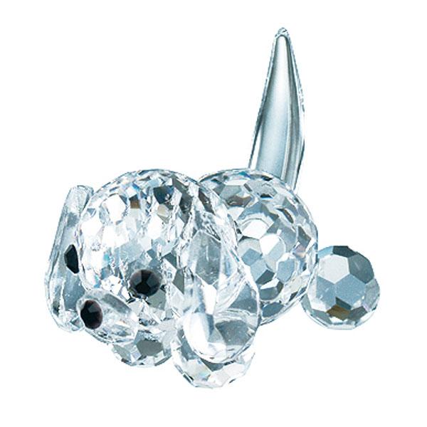Preciosa Crystal Puppy Figurine